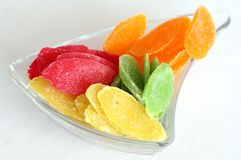 Getrocknete Früchte stockbild