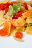 Getrocknete Fruchtsüßigkeiten Lizenzfreies Stockbild