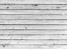 Getrocknete hölzerne Schwarzweiss-Planke Stockfotos