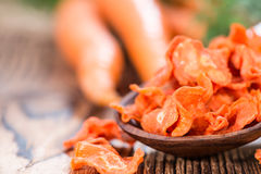 Getrocknete Karotten Stockfotos
