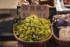 Getrocknete Kiwi für Verkauf in China Stockfotos