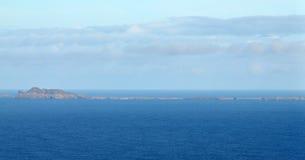 Getrocknete kleine Insel von Djeu Lizenzfreies Stockfoto