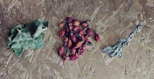 Getrocknete Kräuter Stockbilder