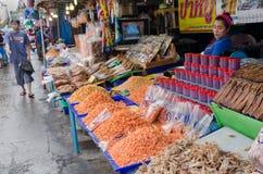 Getrocknete Meeresfrüchte für Verkauf Stockfoto