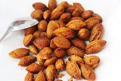 Getrocknete Nüsse sind gewürzt Lizenzfreie Stockbilder