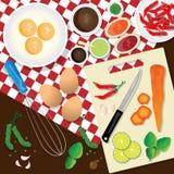 Getrocknete Nahrung Lizenzfreie Stockbilder