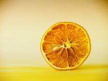Getrocknete orange Scheibe (10) Lizenzfreies Stockbild