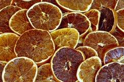 Getrocknete Orangen Lizenzfreies Stockfoto
