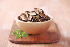 Getrocknete Pilze Stockfoto
