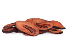 Getrocknete Quitte-Frucht Lizenzfreies Stockfoto