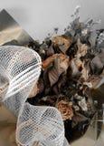 Getrocknete Rosen Stockbild