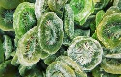 Getrocknete süße Kiwi Stockfotos