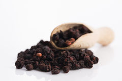Getrocknete schisandra Früchte chinensis Lizenzfreie Stockfotos