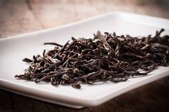 Getrocknete Teeblätter Stockfotografie