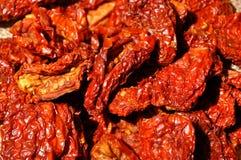 Getrocknete Tomaten Lizenzfreies Stockfoto