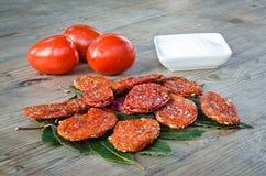 Getrocknete Tomaten Stockfotos
