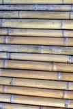 Getrockneter Bambusbeschaffenheitshintergrund Stockfoto