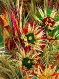 Getrockneter Blumenaufbau stockfoto