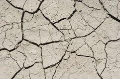Getrockneter Boden Stockfoto