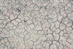 Getrockneter Boden Lizenzfreies Stockfoto