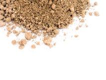 Getrockneter Filterkuchen oder Zuckerrohr-Bagasse Lizenzfreie Stockfotos
