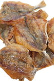 Getrockneter Fischimbiß Stockbild