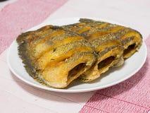 Getrockneter Fried Snake Skin Gourami Fish, Thailand-Anruf Lizenzfreie Stockbilder