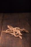 Getrockneter lingzhi Pilz u. x28; Auch genannt als Reishi-Pilz in Japan Stockfoto