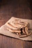 Getrockneter lingzhi Pilz u. x28; Auch genannt als Reishi-Pilz in Japan Lizenzfreies Stockbild