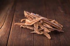 Getrockneter lingzhi Pilz u. x28; Auch genannt als Reishi-Pilz in Japan Stockfotografie