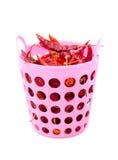 Getrockneter roter Paprika lizenzfreie stockbilder