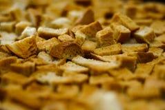 Getrocknetes Brot Lizenzfreie Stockbilder
