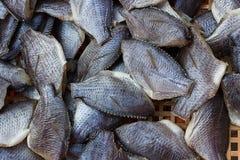 Getrocknetes Fishs wurde im Basar verkauft Lizenzfreies Stockbild