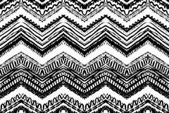 Getrokken de hand schilderde naadloos patroon Vector Stock Afbeeldingen