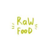 Getrokken hand het van letters voorzien van voor uw ontwerpen vegetarisch restaurant, caf Stock Foto's