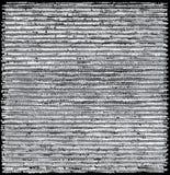 Getrokken horizontale strepen overlappen het uit de vrije hand, die modern, rustiek patroon vormen Royalty-vrije Stock Fotografie