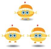 Getrokken robots Royalty-vrije Stock Foto