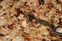 Getrokken varkensvlees Stock Foto
