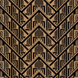 Getsby Style Pattern Royalty Free Stock Photography