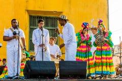 Getsemanir Cartagena de los indias Bolivar Колумбия стоковые фото