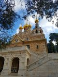 Getsemany kloster Arkivbild