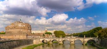 Gettare un ponte su Roma Fotografie Stock Libere da Diritti