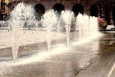 Getti di acqua Fotografia Stock Libera da Diritti