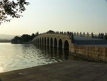 Getti un ponte su in Cina 3 fotografie stock