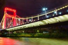 Getti un ponte su un cognome Xining immagini stock
