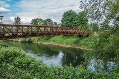 Getti un ponte su sopra il Green River 6 Fotografia Stock Libera da Diritti