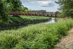 Getti un ponte su sopra il Green River 5 Fotografia Stock Libera da Diritti