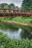 Getti un ponte su sopra il Green River 7 Fotografie Stock Libere da Diritti