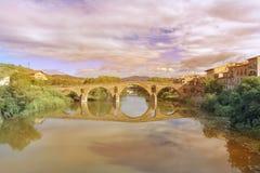 Getti un ponte sulla regina Fotografia Stock Libera da Diritti