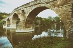 Getti un ponte sulla regina Fotografia Stock